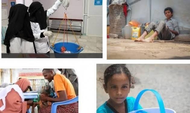 AISE UNICEF: ACCESSO ALL'ACQUA MINACCIATO PER MILIONI DI BAMBINI NELLO YEMEN DEVASTATO DALLA  GUERRA