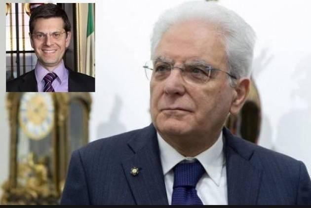 Luigi Lipara : Il Pd (Cr) accogli invito di Mattarella per 'riportare parole di buon senso nel dibattito pubblico'.