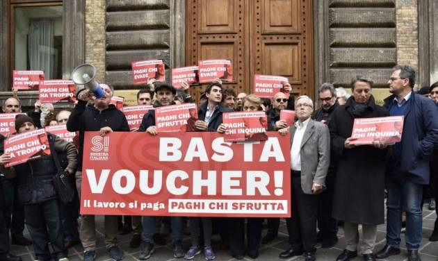 Dl dignità No ai voucher, la Cgil lancia una petizione online