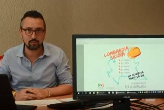 (Video ) Matteo Piloni (Pd) Lombardia Sicura , Parchi, Ponte di Casalmaggiore ed Educatori Professionali