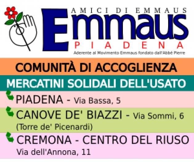 (Video) Gli Amici di Emmaus di Piadena si presentano Intervista con  Massimo Bondioli