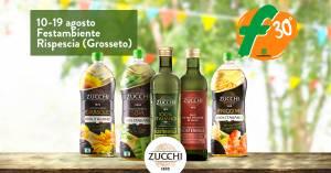 La sostenibilità di Oleificio Zucchi di Cremona abbraccia Festambiente 2018 dal 10 al 19 agosto