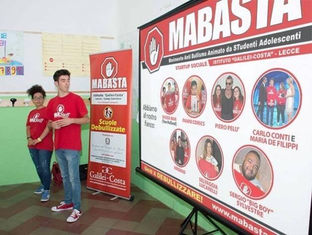 Bullismo: sinergia tra i ragazzi del Bio Campus e Mabasta