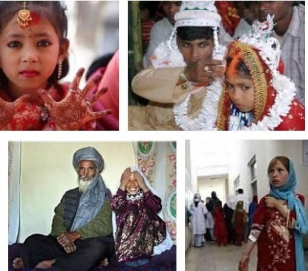 AISE AFGHANISTAN: NEL 42% DELLE FAMIGLIE MATRIMONI INFANTILI