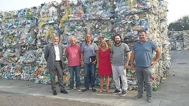 Interessante visita sul tema rifiuti alla Casalasca Servizi S.p.A.