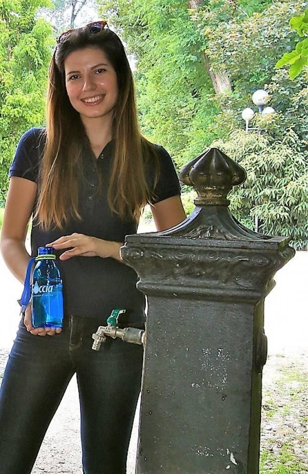 Padania Acque Caldo torrido e afa. L'acqua del rubinetto è ideale per affrontare i giorni più caldi dell'anno