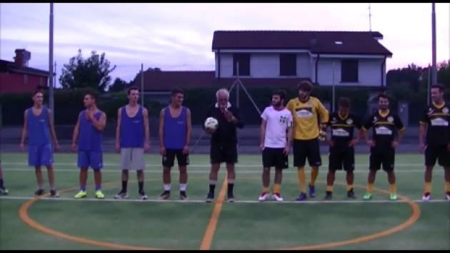 (Video) Torricella del Pizzo (Cr) Il Sindaco Emanuele   Sacchini  inaugura il campo tennis-calcetto