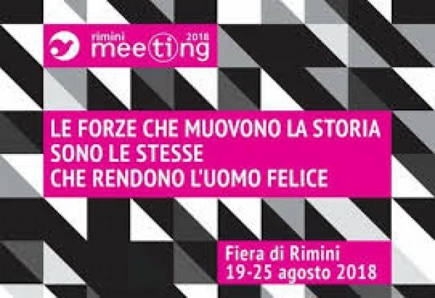 Afol Metropolitana, Energheia e Galdus  al al Meeting di Rimini 19 - 25 agosto 2018