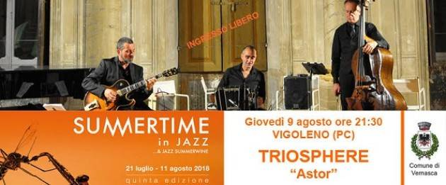 Dal 7 all'11 agosto finale col botto per Summertime in Jazz 2018! Giovedì 9/8 a Vigoleno.