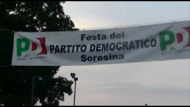 (Video) Immagini dalla Festa Democratica di Soresina 2018