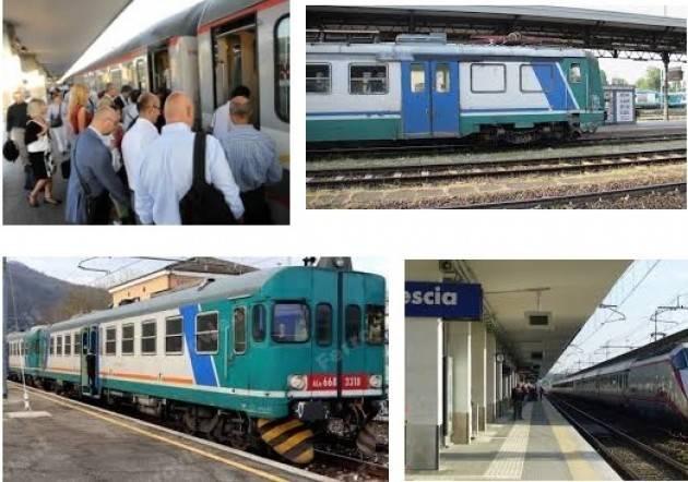Trenord  Lavori sulle linea BRESCIA-CREMONA E BRESCIA-PARMA DALL'11 AL 26 AGOSTO