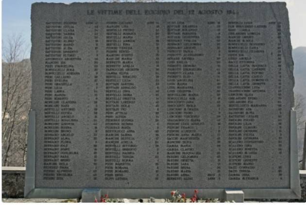 AccaddeOggi  #12agosto 1944 Strage nazi-fascista a Stazzena
