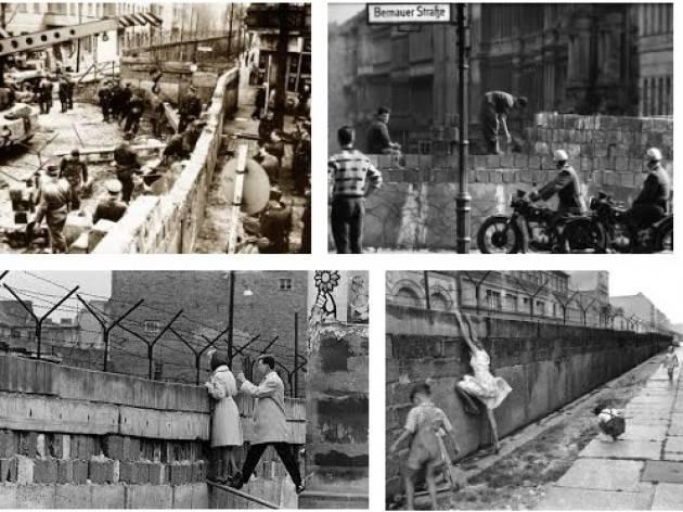 AccaddeOggi   #13agosto  1961 – Berlino (Germania): il governo della Germania Est fa erigere il Muro di Berlino