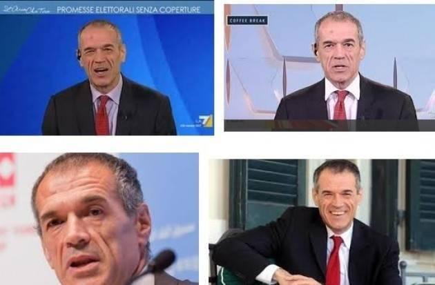 Il governo Lega-M5S, per far bene all'Italia 'rubi' le idee a Cottarelli di Giancarlo Dati (Castelleone)