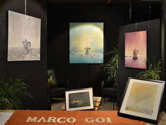 Marco Goi espone presso l'Arte in Vetrina a Piadena