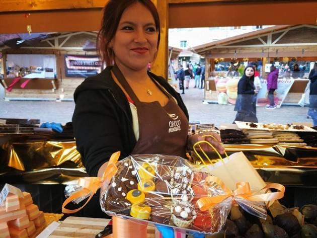 Dal 17 al 19 agosto a Santa Caterina Valfurva in Piazza Magliavaca la Fabbrica del Cioccolato Chocomoments