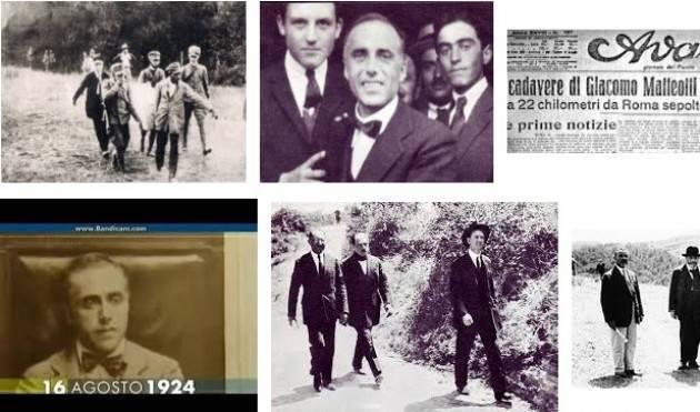 AccaddeOggi   #16agosto 1924 – Il cadavere di Matteotti, rapito e ucciso dai fascisti viene ritrovato