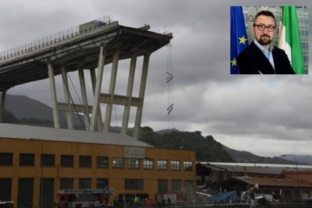 Matteo Piloni (Pd) Quanto accaduto a Genova è una gigantesca tragedia. Serve una Lombardia sicura