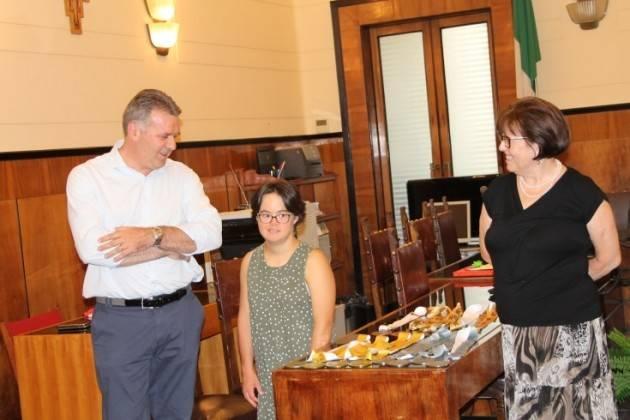 Maria Bresciani in Provincia 'Un vanto per tutta la nostra comunità locale ed il Paese'
