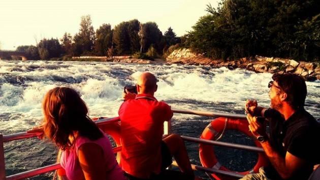 Lodi La Musica sul Fiume: il 29/9 aperitivi al tramonto navigando sull'Adda come sul Mississippi