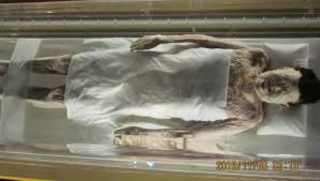 AccaddeOggi  #18agosto 1975 – Ritrovata in una zona centrale della Cina una mummia di oltre 2.000 anni