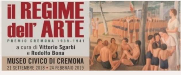 Attesa per Il Regime dell'Arte - Il Premio Cremona 1939-1941. Mostra a cura di Rodolfo Bona e Vittorio Sgarbi  dal 21/09/2018
