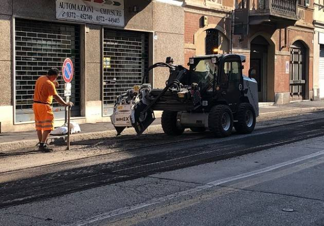 Cremona Partito il piano asfaltature: da via Buoso da Dovara alla tangenziale