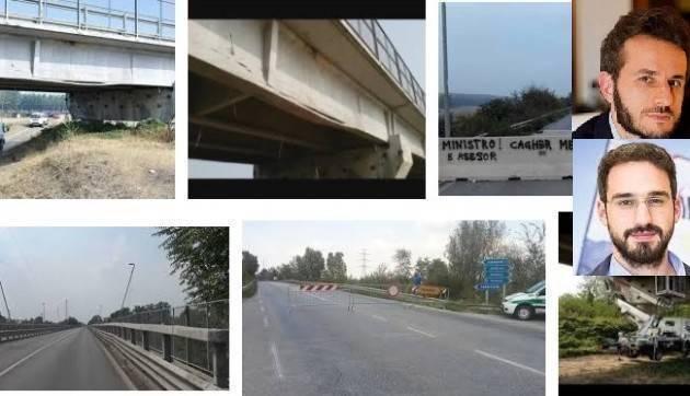 Degli Angeli e Fiasconaro (M5S) rispondono a Piloni e Forattini (PD) sui ponti cremonesi-mantovani