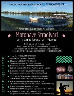 Estate e Autunno 2018 in crociera sul Grande Fiume il 30 settembre