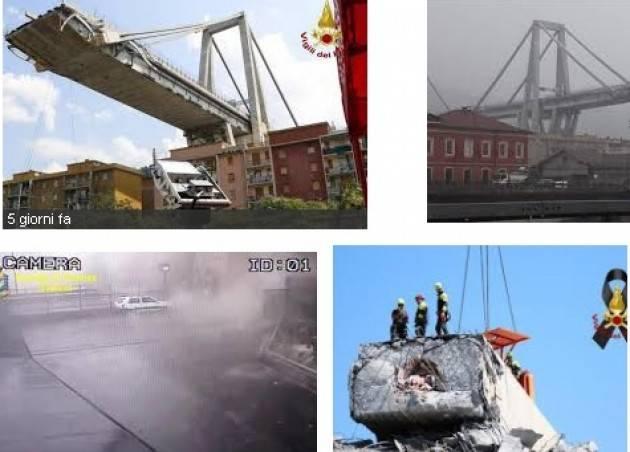 Crollo del Ponte Morandi di Genova: UPL e ANCI Lombardia avviano il Tavolo ricognizione delle opere