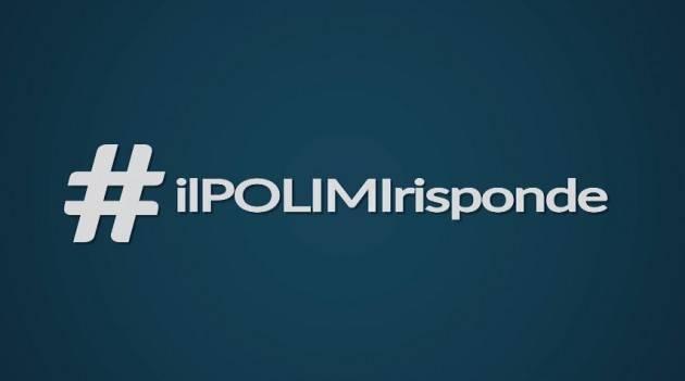Dubbi e curiosità scientifiche? Da OGGI le risposte su #IlPOLIMIrisponde, la nuova rubrica video del Politecnico di Milano