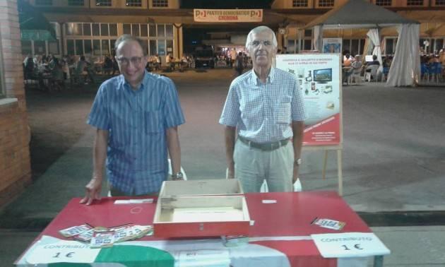 (Video) Festa Unità 2018 Cremona Sullo sviluppo del territorio convergenze fra Pedretti (Cgil), Demaria (Cisl) e Ruggeri (vicesindaco)