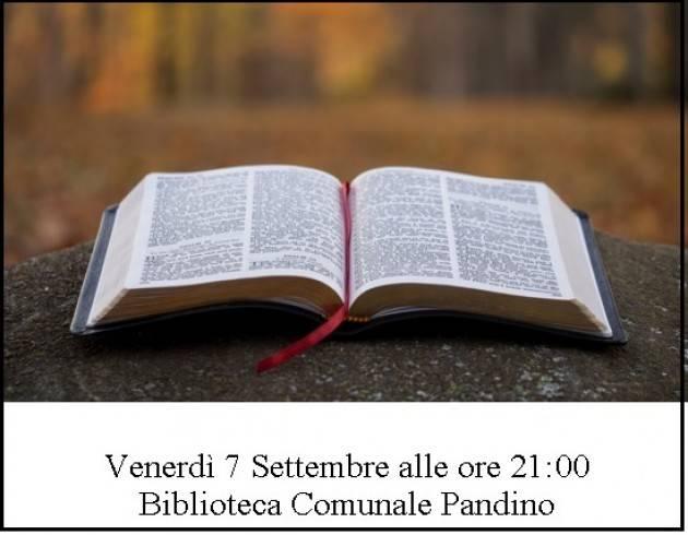 Pandino 'Di pagina in pagina'  Incontri con  Paola Boni venerdì 7 settembre