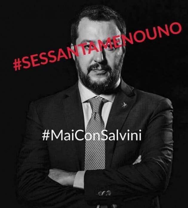 Caro #Salvini. Urla pure con la bava alla bocca. Ma io non sono con te