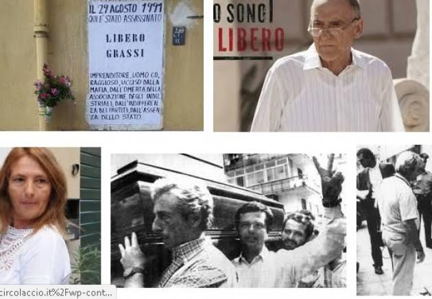 AccaddeOggi  #29agosto 1991- A Palermo viene ucciso dalla mafia Libero Grassi, imprenditore impegnato nella lotta alla mafia