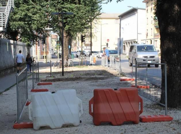 (Video) Cremona Nuova ciclabile in viale Trento Trieste Ne parliamo con A.Manfredini e l'Ing.Pagliarini