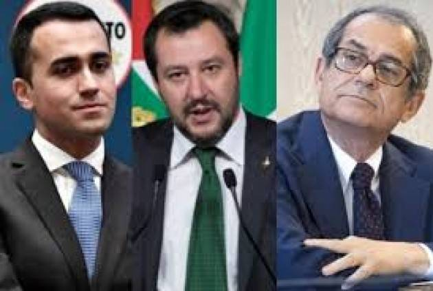 ADUC Governo. Deficit/Pil: Di Maio vuole superare il 3%, Salvini lo vuole sfiorare e Tria lo vuole al 2%
