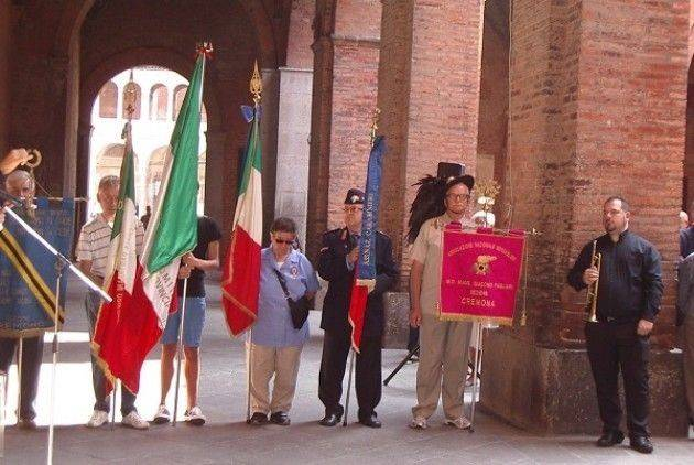 Cremona Commemorazione dell'8 settembre nel 75° anniversario