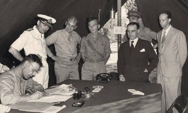 8 SETTEMBRE 1943: NELLA COSCIENZA DELLA STORIA di  Giorgino  Carnevali (Cremona)