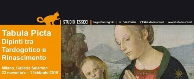 Milano: 'Tabula Picta', dipinti tra Tardogotico e Rinascimento lungo la Penisola