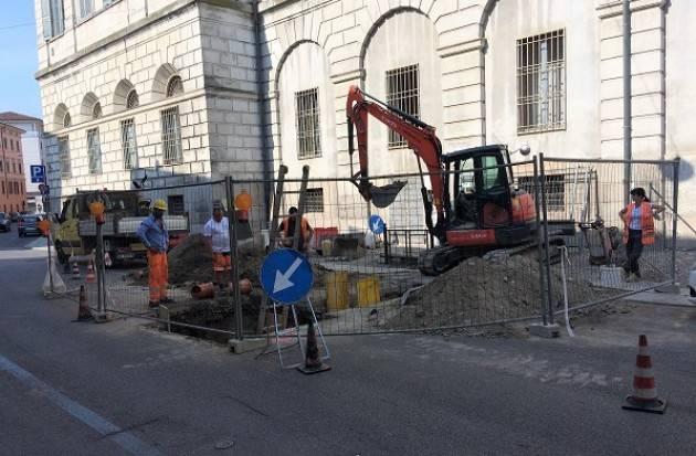 A Cremona, Padania Acque S.p.A.: da lunedì 10 settembre, cantiere fognario in via Pecorari
