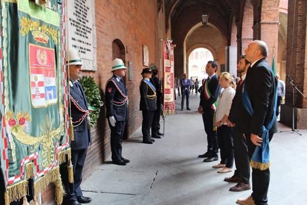 Cremona  Commemorato il 75° anniversario dell'8 settembre con Gianluca Galimberti