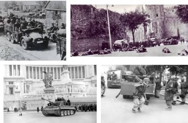 AccaddeOggi    #10settembre  1943-Le truppe tedesche occupano di Roma durante la seconda guerra mondiale