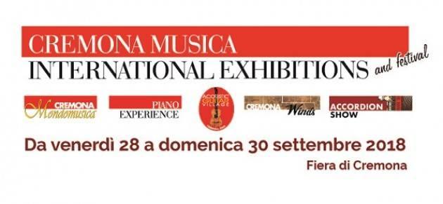 Cremona Musica International Exhibitions 2018 sempre più specializzata e ancora più grande