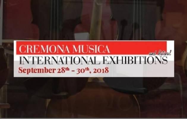 In Cremona Musica International Exhibitions 2018 dal 28 al 30 settembre sempre più specializzata e ancora più grande