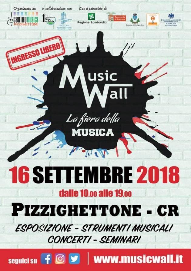 Music Wall - La fiera della Musica domenica 16 settembre a Pizzighettone (CR)