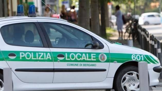 Bergamo 13 nuovi agenti, 34 arresti nel 2018: cresce la Polizia Locale