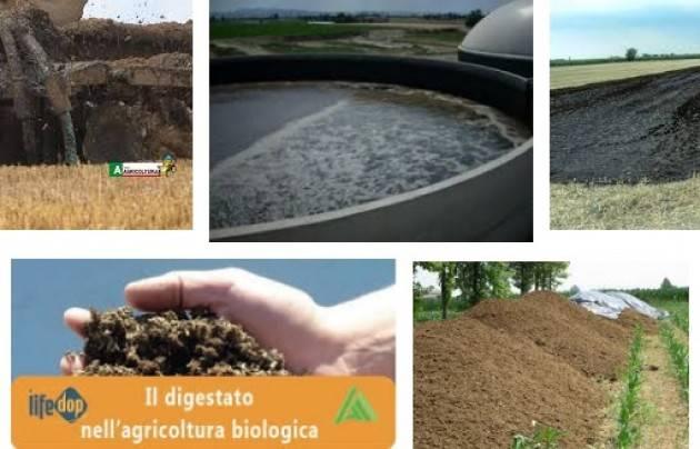 Coldiretti Ambiente, valorizzare concime naturale Prandini: digestato risposta a sostenibilità