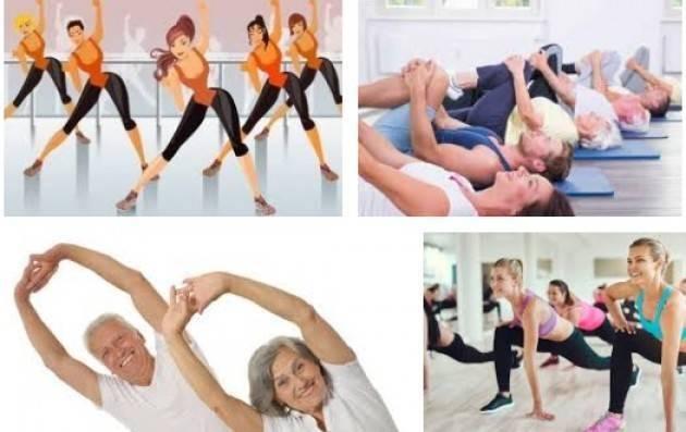Uisp Organizza al Cambonino ginnastica di mantenimento per adulti