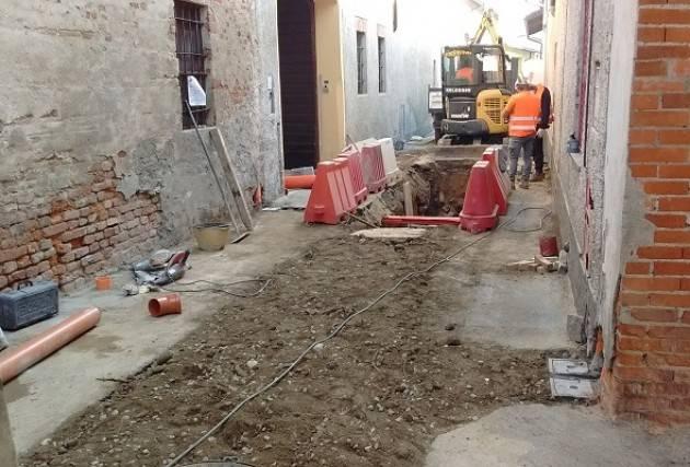 Cremona, Padania Acque S.p.A.: terminato il cantiere fognario in via Cavour a Casalmorano